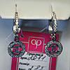Серебряные серьги-подвески Chanel 2071