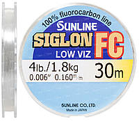 Флюорокарбон Sunline SIG-FC 30м 0.160мм 1.8кг поводковый