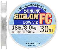Флюорокарбон Sunline SIG-FC 30м 0.350мм 8кг поводковый