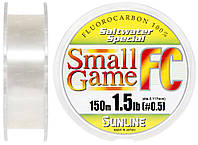 Флюорокарбон Sunline SWS Small Game FC 150м 0.117мм 1.5LB матч/тонущ.