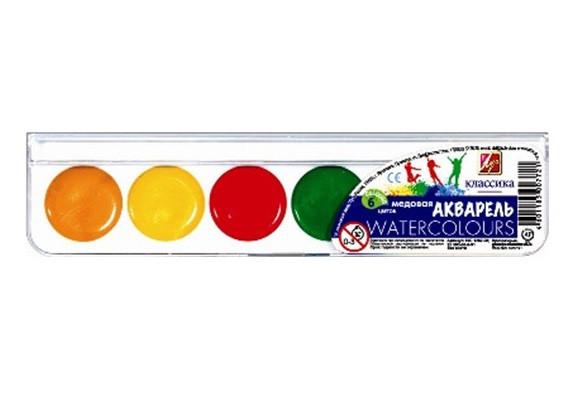 Луч Краски акварель Классика 6цв