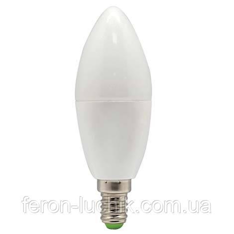Світлодіодна лампа Feron LB-97 7W C37 Е14
