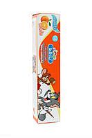 Тайская детская зубная паста Кодомо Апельсин. Kodomo Lion Xylitol Plus Special Toothpaste for Children.