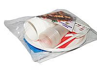 """Набор одноразовой посуды """"Pop-pack"""" (10 персон), Одноразовая посуда оптом, Наборы одноразовой посуды в Украине"""
