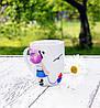 "Чашка c декором ""Морячка"" Подарок в морском стиле Сувенир морской тематики"