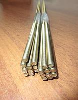 Шпилька М6 різьбова DIN 975 з латуні