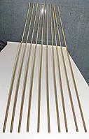 Шпилька М22 різьбова DIN 975 з латуні