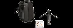 Набор аксессуаров для камер Sony (батарея NP-BN1, футляр LCS-CTBN, мини-штатив)