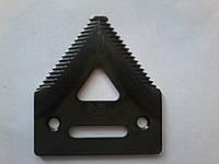 Сегмент ножа жатки John Deere H136807, H207929, Н066.29, 420.100.085, 420100085, H207930