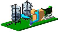 Поставка зерносушильного комплекса с теплогенерирующей установкой на биомассе для ОДО «Маяк»