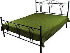 Покрывало на кровать, диван зеленое 150х212