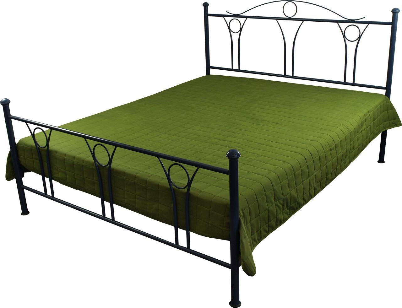 Покрывало на кровать, диван зеленое 212х240