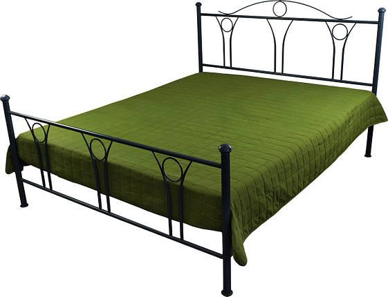 Покрывало на кровать, диван зеленое 212х240, фото 2