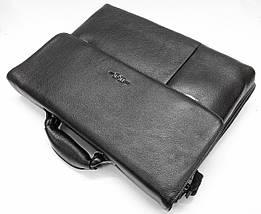 Практичный мужской портфель из натуральной кожи, фото 3