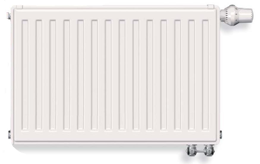 Радиатор стальной Vogel&Noot тип 11VK 300x1400