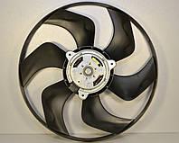 Вентилятор радиатора в диффузоре d=383mm на Renault Trafic II + Opel Vivaro A 01->14 - 77 01 069 898