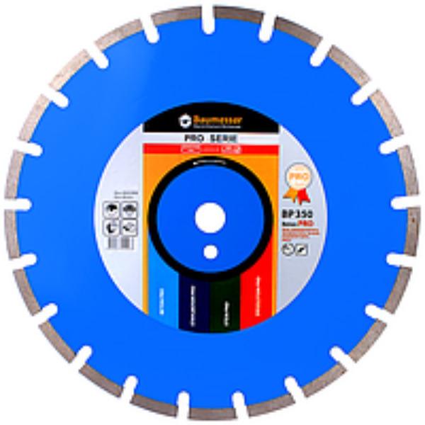 Алмазний відрізний круг Baumesser 1A1RSS/C1-H 400x3,8/2,8x10x25,4-24 F4 Beton PRO