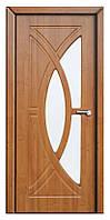 Дверь межкомнатная остекленная Фантазия (Ольха)