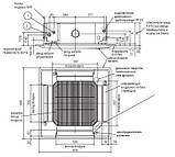 Кассетный блок Mitsubishi electric PLA-ZRP 60 BA, фото 2