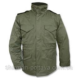 Куртка мужская зимняя с подстежкой   M65  МIl-Tec  поликотон  цвет олива  Германия