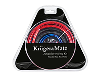 Комплект монтажный для подключения автомобильного усилителя Kruger&Matz KM0010