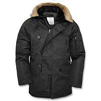 Куртка   Аляска  «N3B»  с покрытием Teflon® by DuPont™  цвет черный  Германия и США M