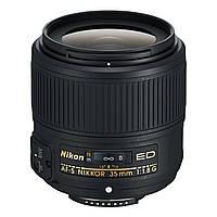 Светосильный объектив Nikon AF-S NIKKOR 35mm f/1.8G ED