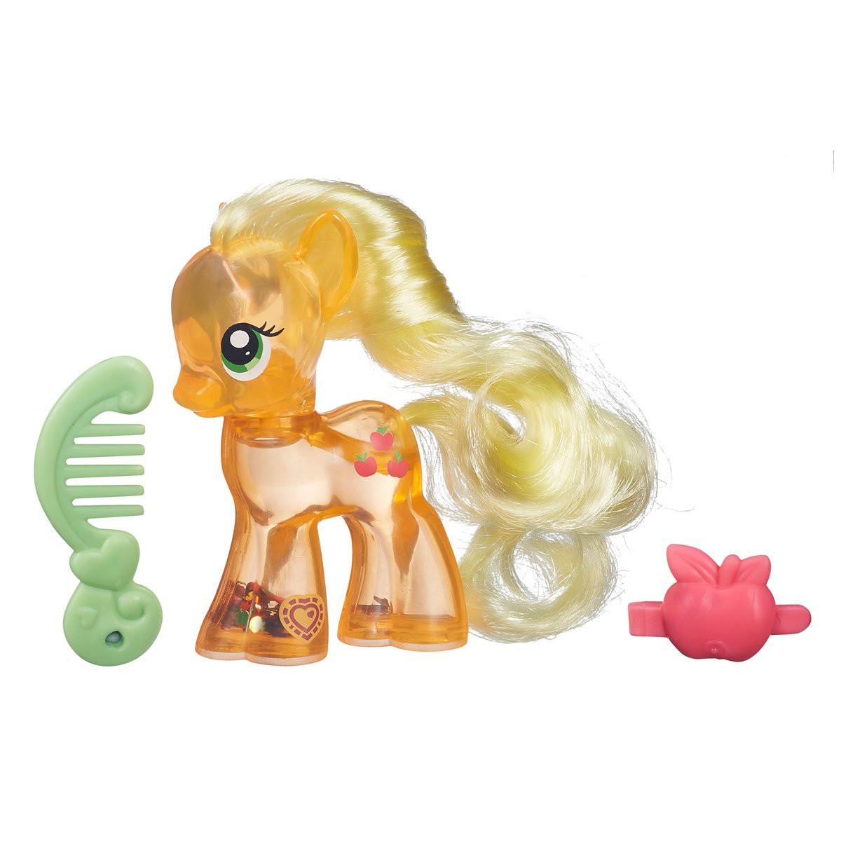 My Little Pony поні Applejack з блискітками серія Cutie Mark Magic (Май Литл Пони пони Эплджек с блестками)