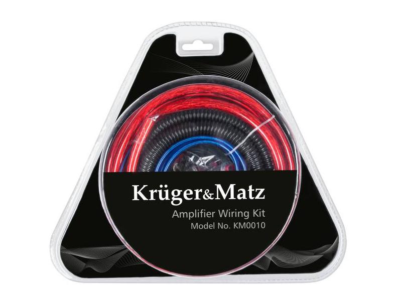 Монтажный комплект для автомобильного усилителя Kruger&Matz KM0010