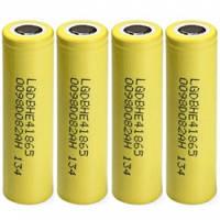 Аккумуляторные батареи LG ICR18650 HE4 2500mah (высокотоковый) , фото 1
