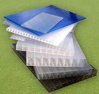 Сотовий полікарбонат Lexan прозорий UV1 2.10*6м. Товщина - 4мм