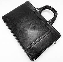 Отличный мужской портфель из натуральной кожи, фото 3
