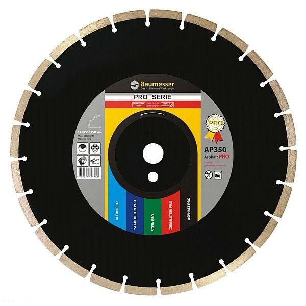 Алмазный отрезной круг Distar 1A1RSS/C3-H 350x3,5/2,5x10x32-24 Sandstone 3000