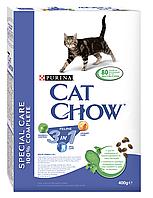 Сухой корм для кошек CAT CHOW FELINE 3IN1 0,4 кг