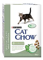 Сухой корм для кошек CAT CHOW STERILISED 0,4 кг