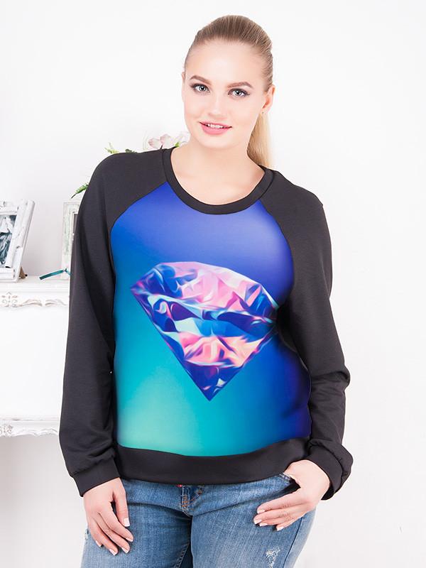 Стильные блузки больших размеров купить