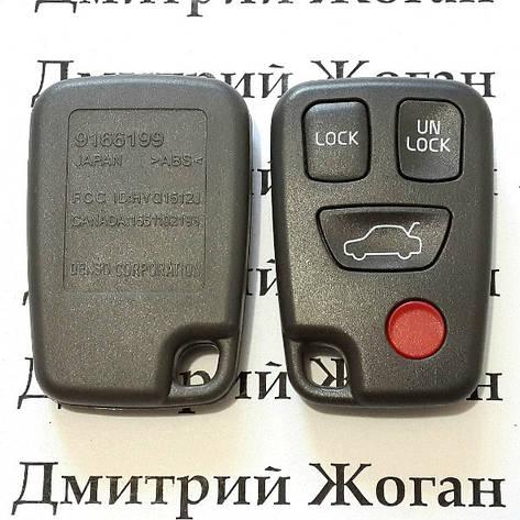 Корпус пульта для Volvo (Вольво) 3 кнопки + 1 (panic), фото 2