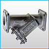 Фильтр чугунный фланцевый (ЧАЗ)  Ду 80