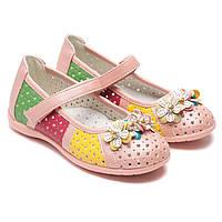Розовые туфельки Шалунишка Ортопед, для девочки, размер 26-31