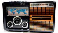 Радиоприемник CT 1200 Спартак FM приёмник MP3  карты SD и USB