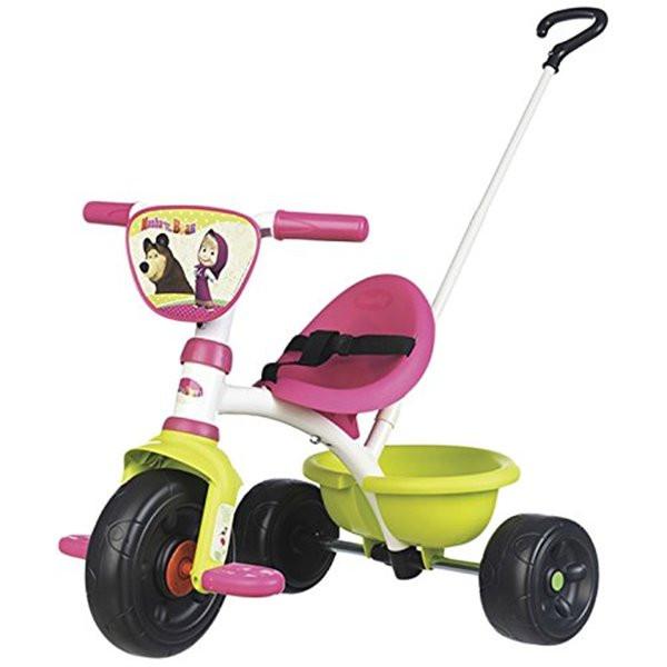 Велосипед трехколесный Be Move Маша и Медведь Smoby 740300