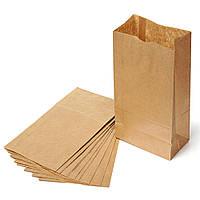 Бумажные крафт пакеты без ручек