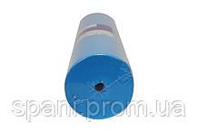 Голубая простынь одноразовая на кушетку или массажный стол в рулоне (спандбонд) Monaco Style 0,8х200 м, пл 20