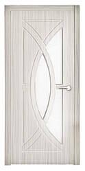 Дверь межкомнатная остекленная Фантазия (Береза белая)