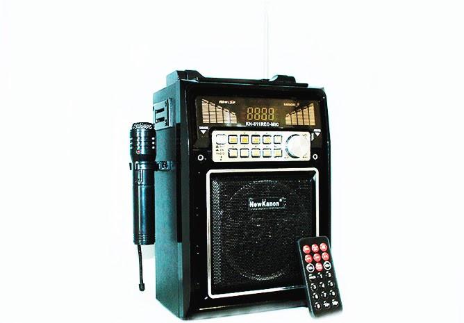 Радиоприемник - Фонарь New Kanon KN-511  LED-светильник, МР3-плеер, пульт ДУ, запись