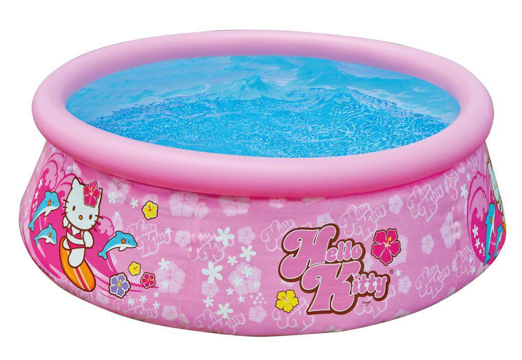 Бассейн наливной 28104 круглый,детск, Hello Kitty,183-51см