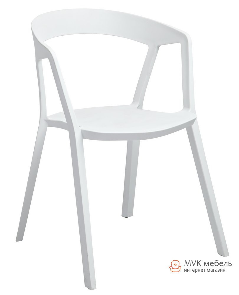 "Кресло пластиковое ""Корнер"" (ПЛ белый)"