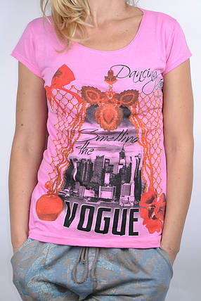 Футболка Vogue Розовый (WT6272/2) | 4 шт., фото 2