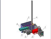 Поставка системы альтернативного теплоснабжения для зерносушильного комплекса  KW 40 ADS CIR