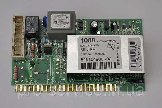 Модуль управления MINISEL 1000 код 546104900 для стиральных машин Ardo FLZ105L, FLS105L, FL105L